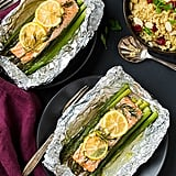 1-Pan Salmon and Asparagus