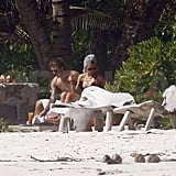 Photos of David and Victoria Beckham on Vacation