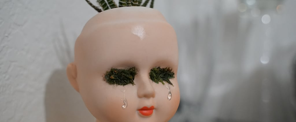 How to Make a Doll Head Planter