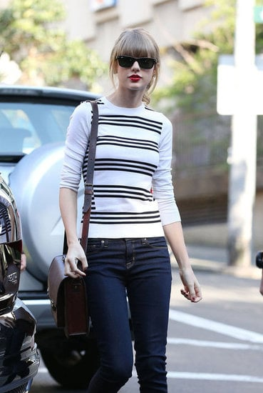 Taylor arrived in Sydney on Sunday, Nov. 25 and went straight to breakfast at Bills in Surry Hills.