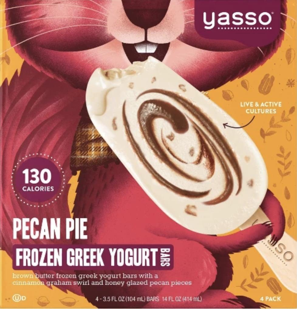 Yasso Pecan Pie Bar
