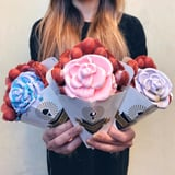 We'll Accept Endless Bouquets of This Rose-Shaped Ice Cream