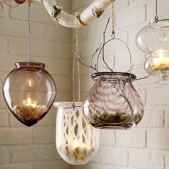 Nice and New: West Elm Art Glass Lanterns