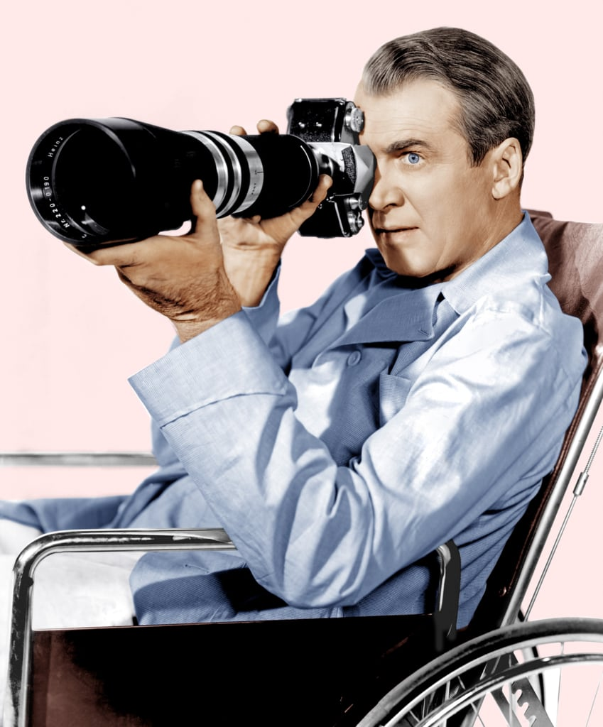 L.B. Jefferies From Rear Window