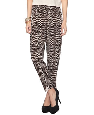 We can never say no to printed pants.  Forever 21 Safari Harem Pants ($20)