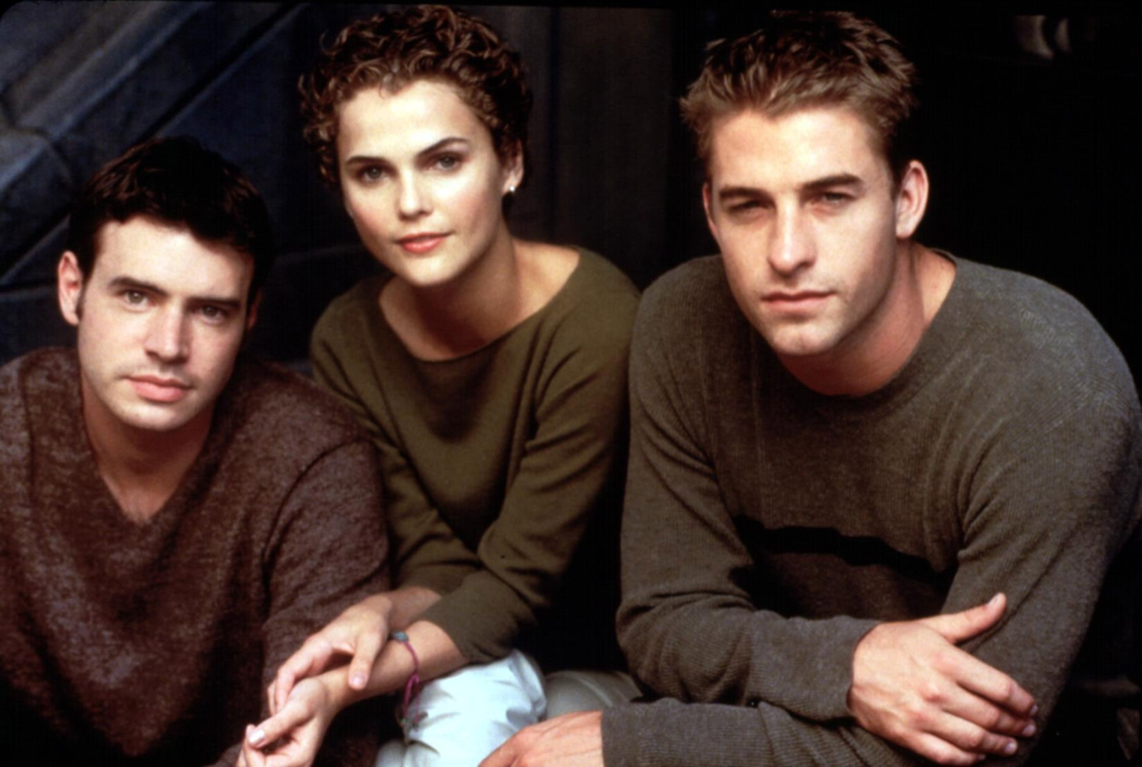 FELICITY, Scott Foley, Keri Russell, Scott Speedman, 1998-2002