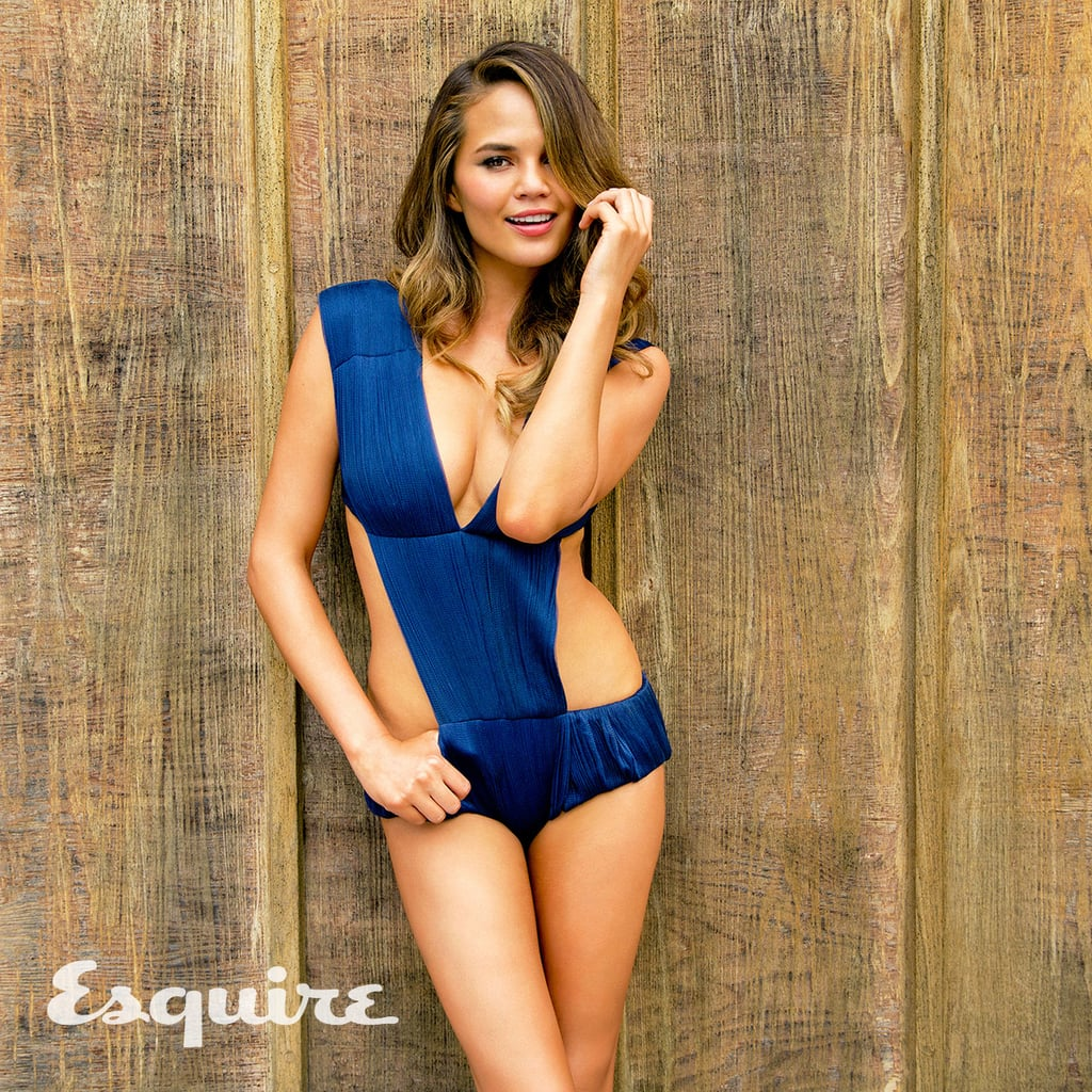 As a former Sports Illustrated model, Chrissy Teigen knows a thing or two about working a swimsuit. Whether she's doing a photo shoot or enjoying a vacation with husband John Legend or simply hanging out poolside, the 33-year-old never misses the opportunity to show off her incredible body (can you blame her?). Sit down, grab a cold drink, and take a look at Chrissy's sexiest swimsuit moments.       Related:                                                                                                           Think You've Been Correctly Pronouncing Chrissy Teigen's Name? So Did We . . . So Did We