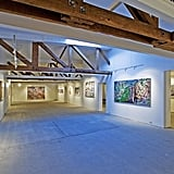 Take a look at one of many gallery spaces Jared has to fill with artwork.  Source: Everett Fenton Gidley