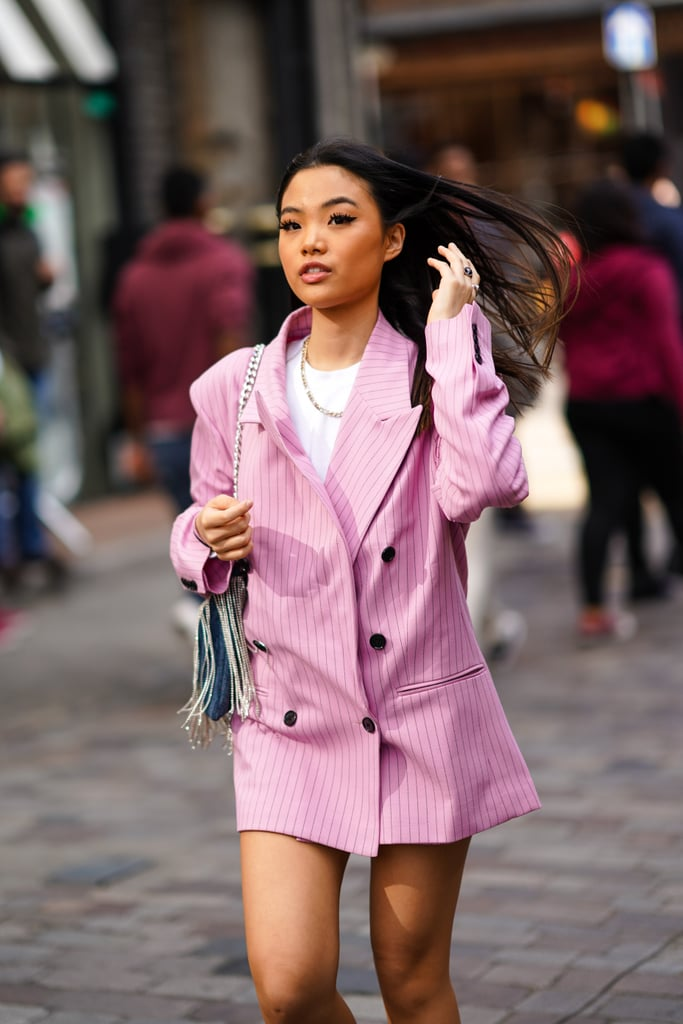 An Oversize Blazer Can Also Be a Dress