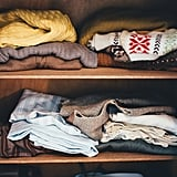 Gather the rest of your belongings, including out-of-season clothing and underwear.
