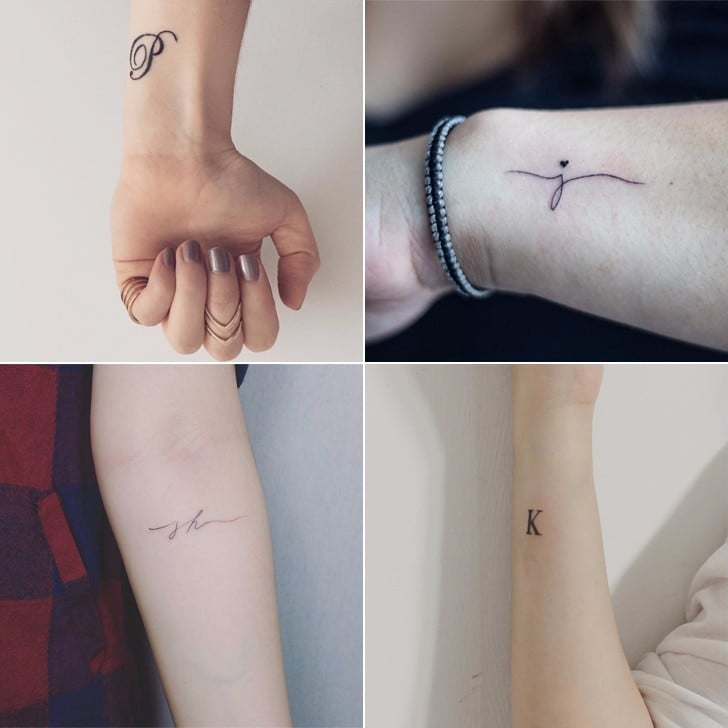 35 Initial Tattoos Perfect For Proclaiming Your Love For Your Partner