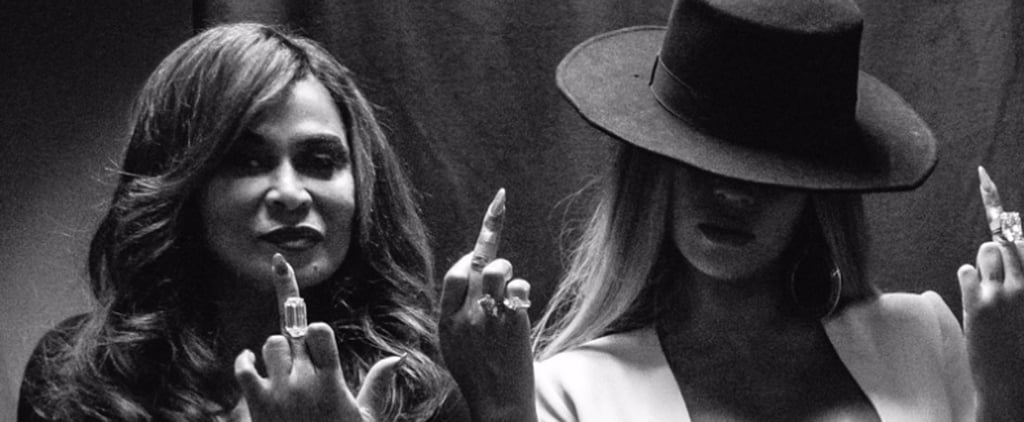 Beyoncé and Her Mom Flip Off the Camera While Partying Together After the Grammys