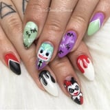 Even Batman Would Admit These Joker Nail Art Looks Are Seriously Impressive