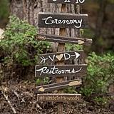 Rustic Signage