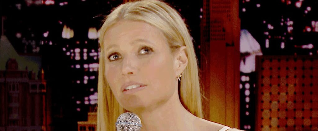 Gwyneth Paltrow Sings Awkward Texts on The Tonight Show