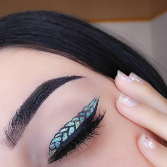 Mermaid Eyeliner Trend