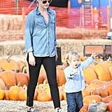 Ali Larter and Theodore
