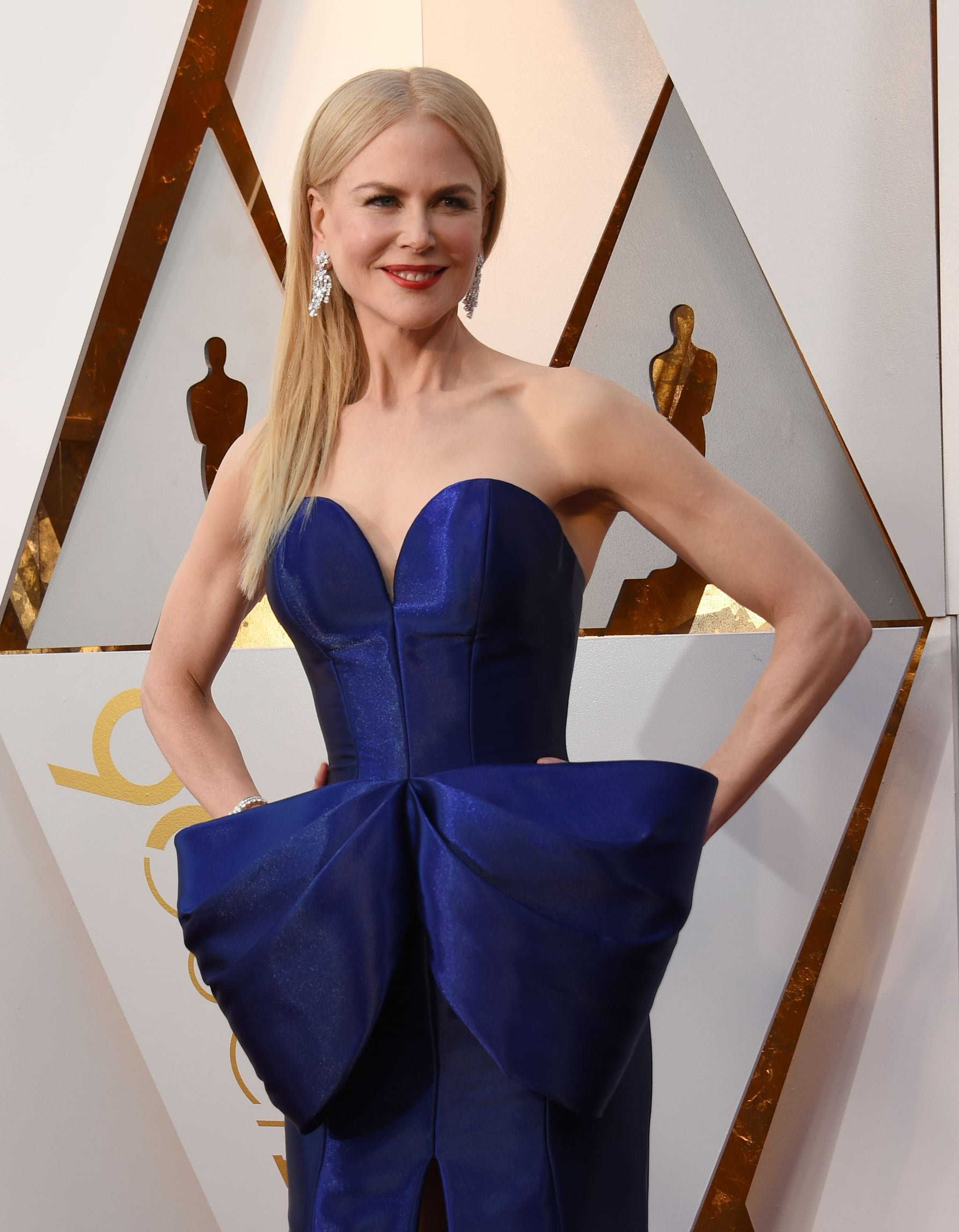 Actress Nicole Kidman arrives for the 90th Annual Academy Awards on March 4, 2018, in Hollywood, California.  / AFP PHOTO / VALERIE MACON        (Photo credit should read VALERIE MACON/AFP/Getty Images)