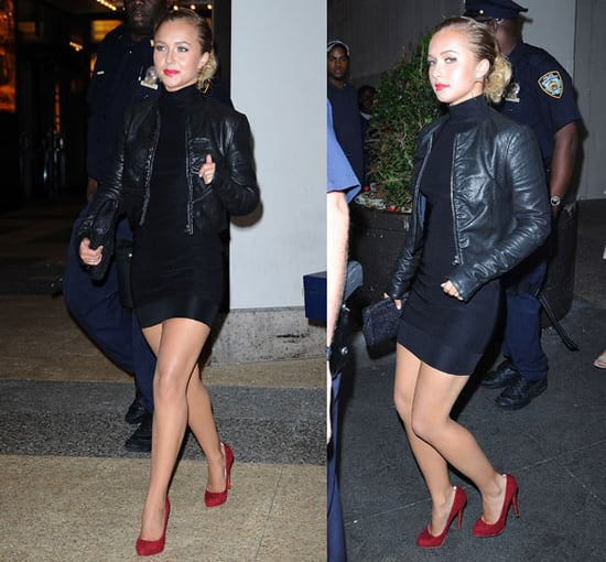 Actress Hayden Panettiere Exits MTV's TRL