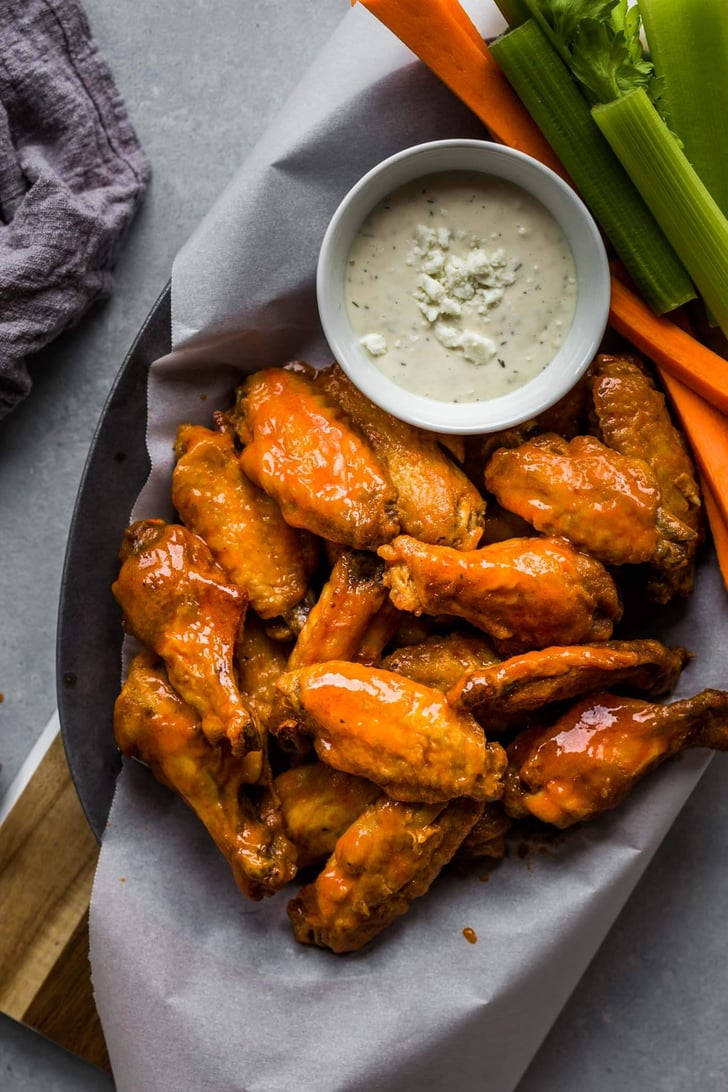 Chicken Wings With Buffalo Sauce Low Carb Air Fryer Recipes Popsugar Fitness Photo 11