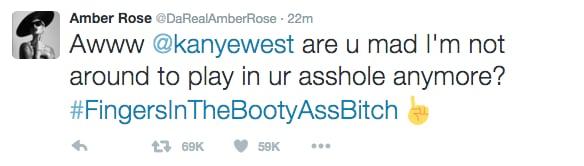 Amber Rose's Tweet