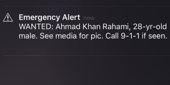Emergency Alert About Bombing Suspect Has New Yorkers On Edge