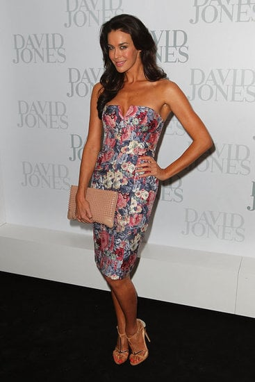 "We love Megan Gale in this quilted, floral Zimmermann dress. The words ""quilted"" and ""floral"" don't normally appear in best-dressed lists, but Megan makes this get-up look classy, fun, refined and youthful all at once. We're desperate for Spring after seeing her in this, aren't you?"