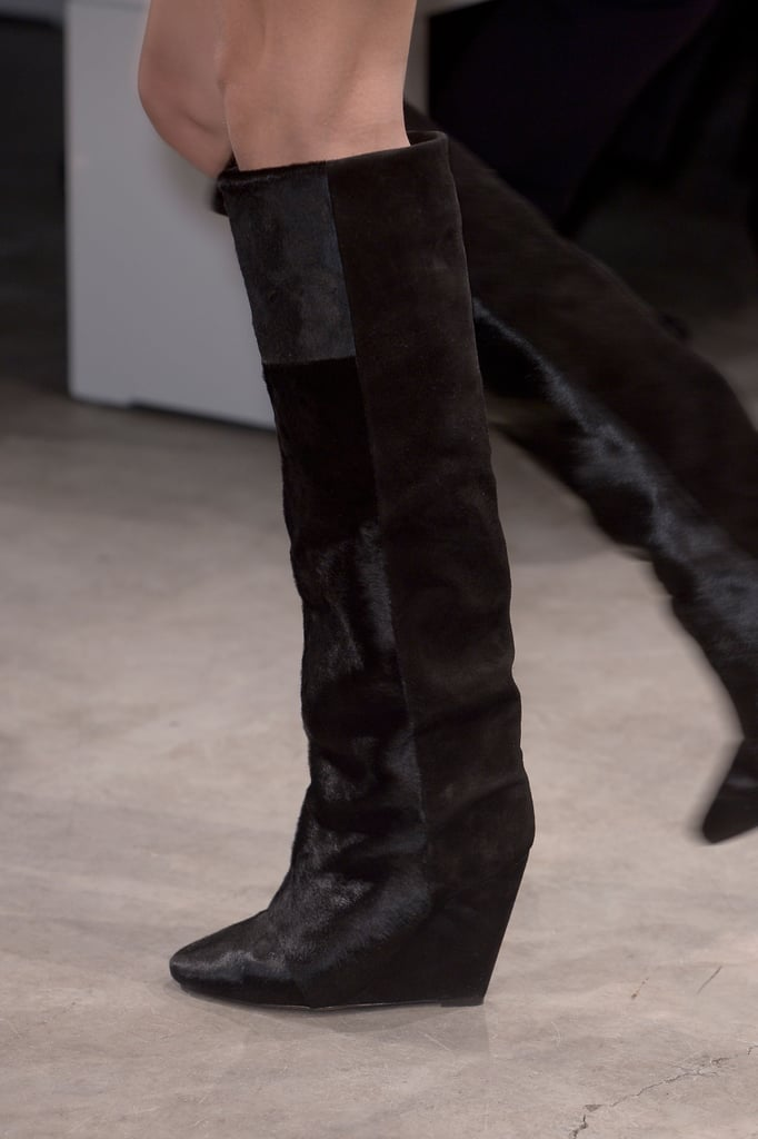 And show off the wedge that Marant shoes often favor.