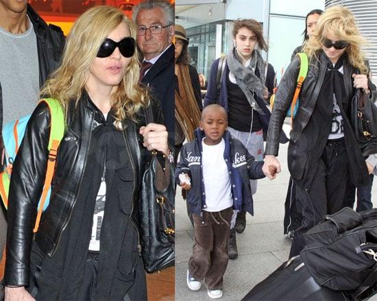 Photos of Madonna, David Banda Ritchie, Lourdes Leon, Rocco Ritchie in London