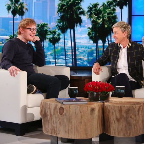 Ed Sheeran on The Ellen DeGeneres Show February 2017