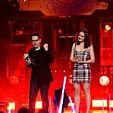 Daisy Ridley at the MTV Movie Awards 2016