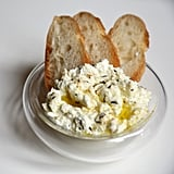Vegetarian Appetizers: Baked Goat Cheese