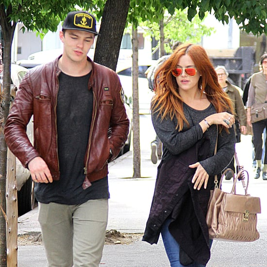 Nicholas Hoult and Riley Keough Together in NYC