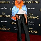 Pictured: Kalen Allen at The Lion King premiere in Hollywood.