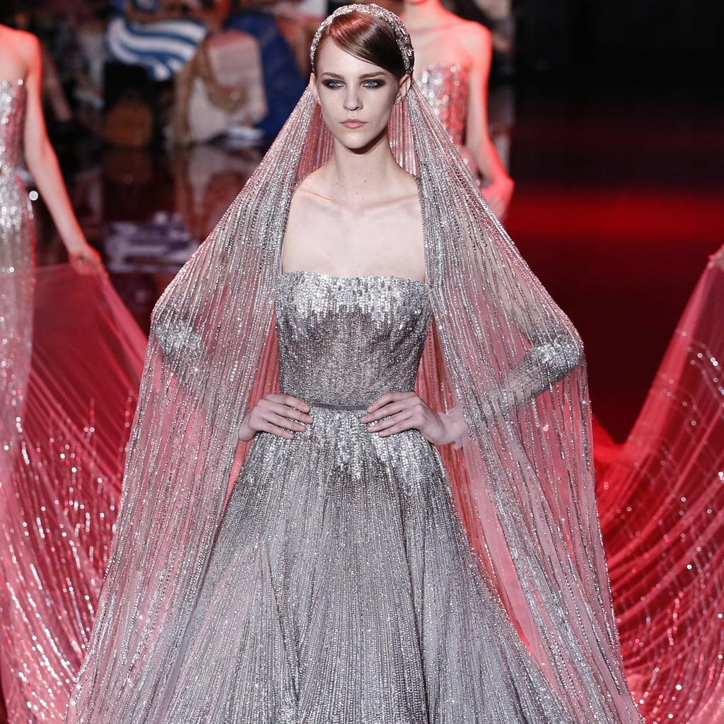 Elie saab at paris haute couture fashion week fall 2013 for Haute couture clothing