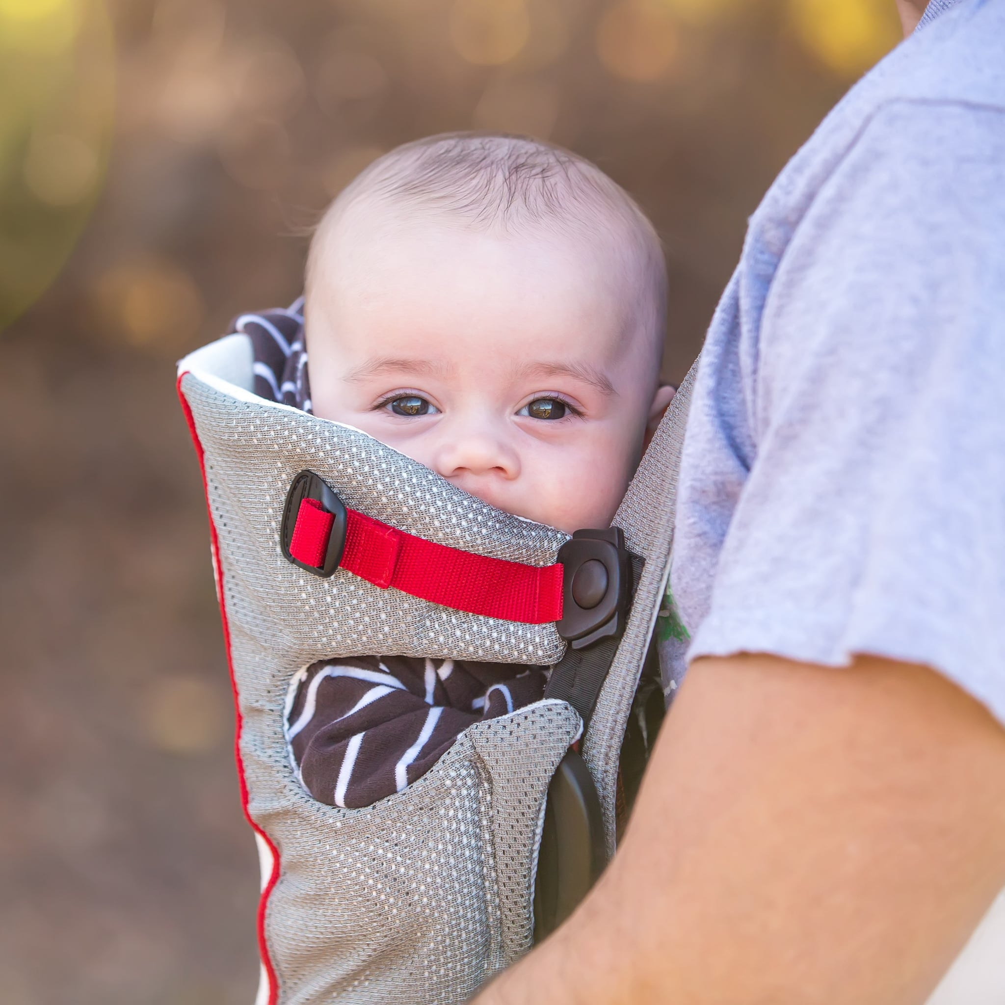 3448b711b9d Hug-a-Bub Ring Sling in Cream Mesh ( 69.95) If your baby s due in ...