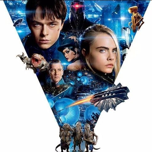 Cara Delevingne and Rihanna in Valerian Movie Trailer
