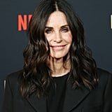 Courteney Cox's Curly Medium-Length Hair in December 2018