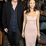 Thandie Newton and Ol Parker in London, 2013