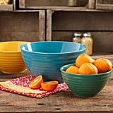 The Pioneer Woman Flea Market 3-Piece Mixing Bowl Set ($20)