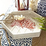 Pier 1 Imports Coral Reef Hexagonal Tray ($30)