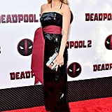 Blake Lively Brandon Maxwell Dress at Deadpool 2 Premiere