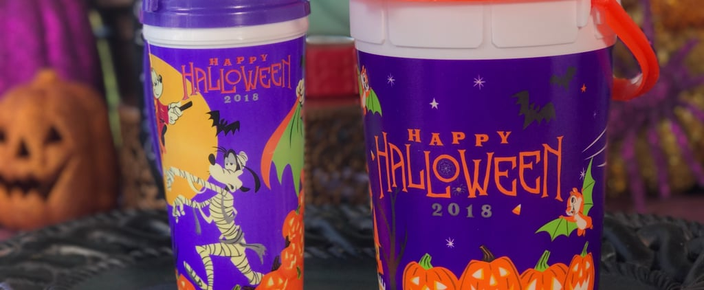 Disneyland Halloween Popcorn Buckets and Mugs 2018