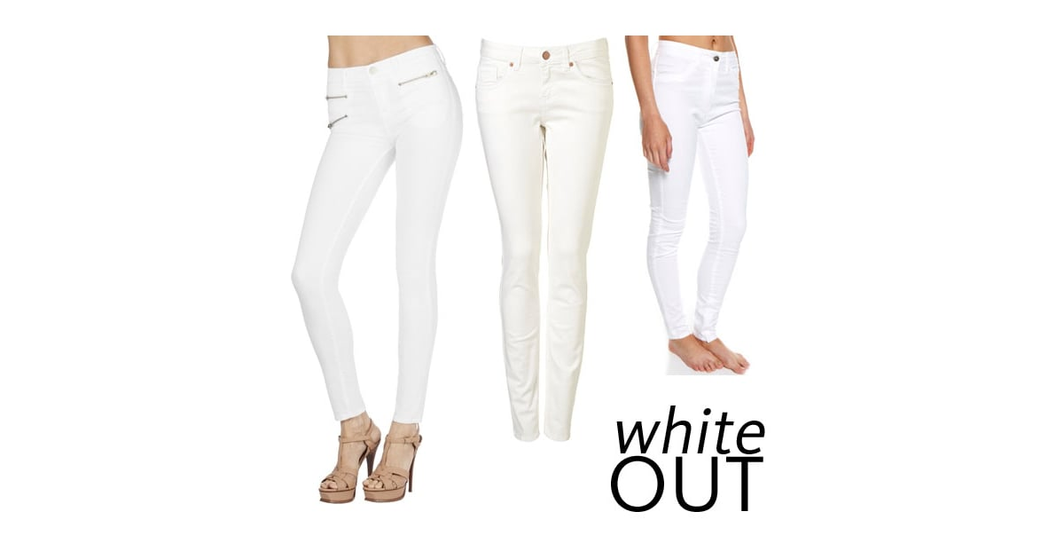Top Five White Jeans to Buy Online For Every Budget: J Brand to