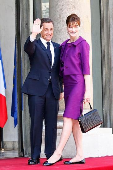 Carla Bruni Celebrates Bastille Day in Dior Cruise