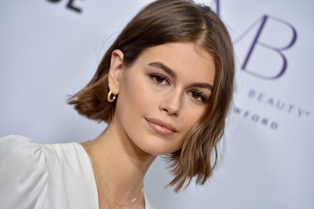 Kaia Gerber's Hair Tuck
