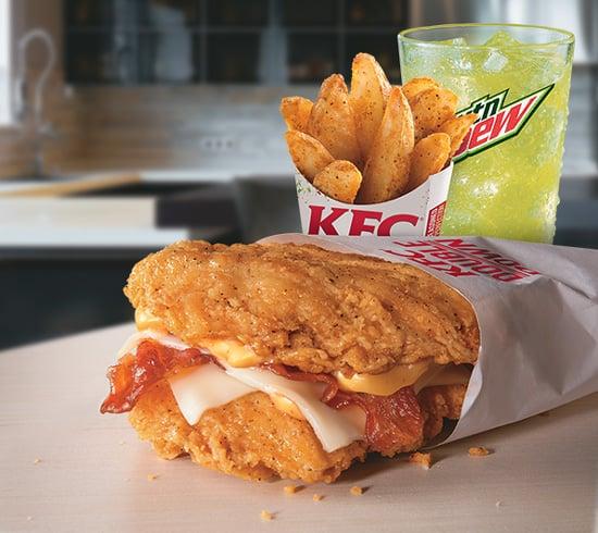 Kfc Double Down New Fast Food Menu Items 2014 Popsugar Food Photo 11