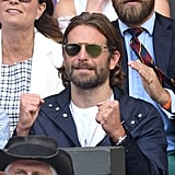 Bradley Cooper at Day 11 of Wimbledon
