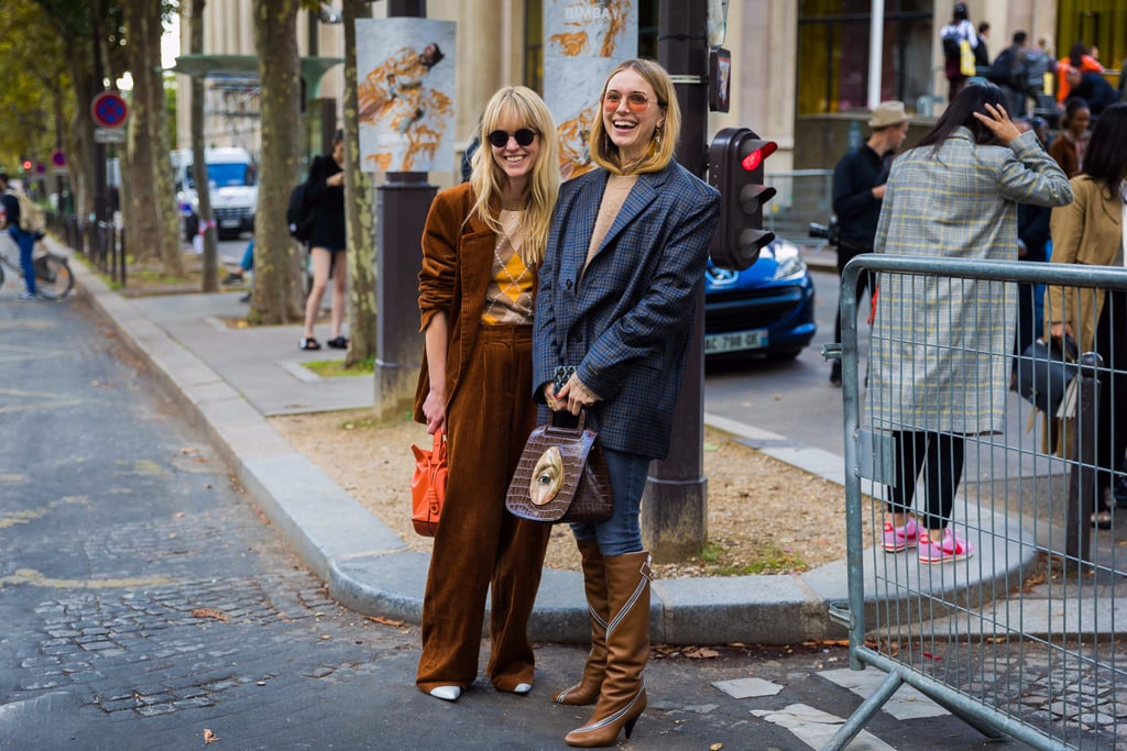 Paris Fashion Week Street Style Spring 2018 Popsugar Fashion