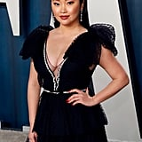 Lana Condor at the Vanity Fair Oscars Afterparty 2020